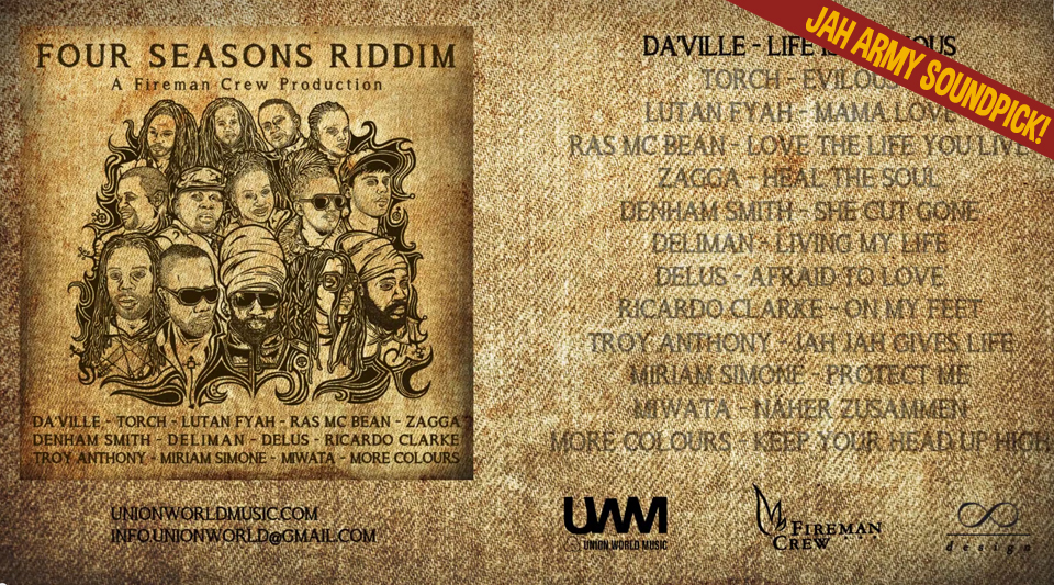 Jah Army Soundpick: Four Seasons Riddim