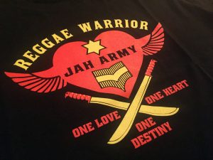 Reggae Warrior by Jah Army Highwear